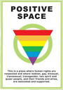 Positive Space Logo Indicating that New Path is LGBT Friendly