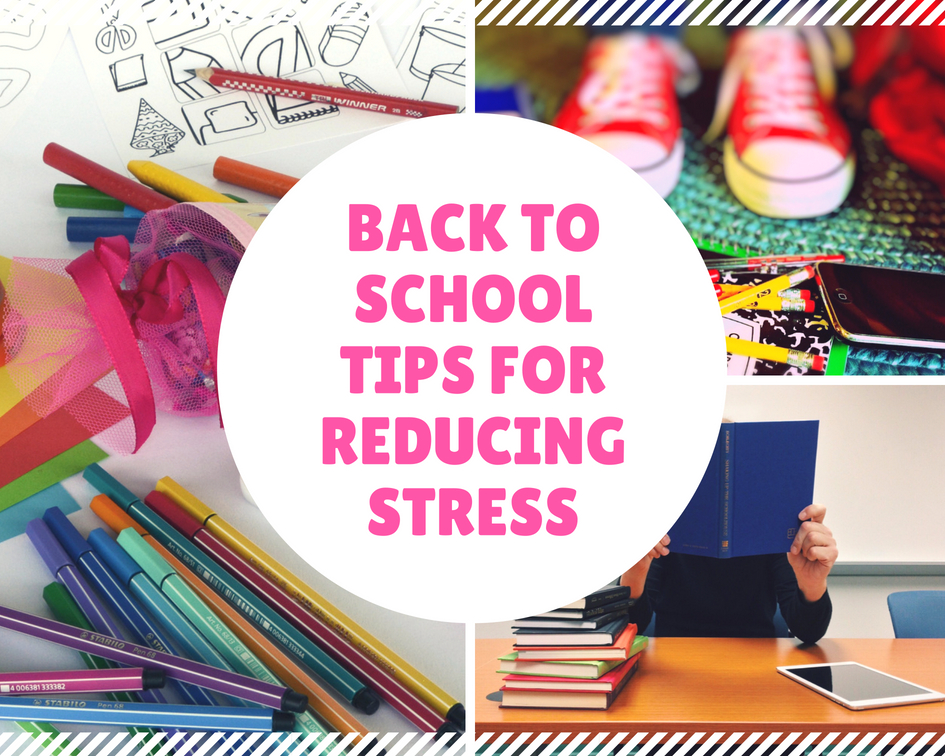 Back <span>to School Tips for Reducing Stress</span>